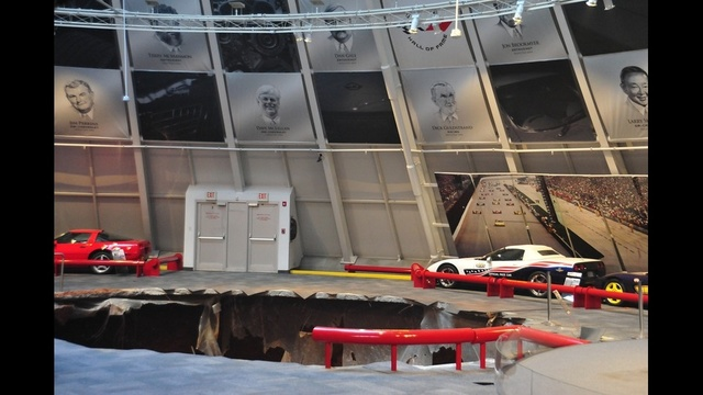 National Corvette museum sinkhole