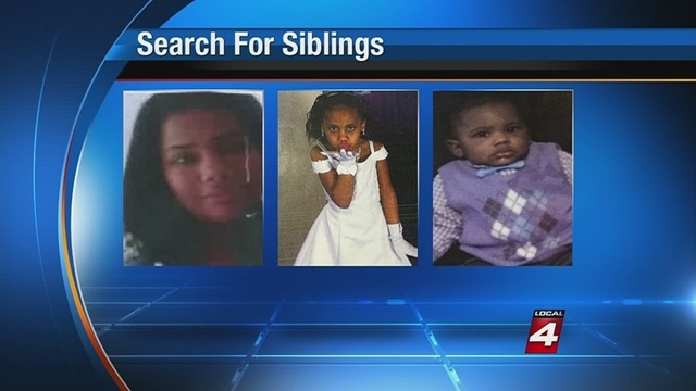 Search continues for missing Detroit children