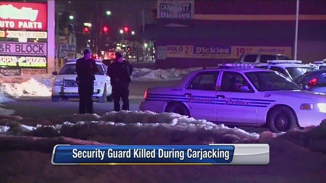 detroit cvs security guard killed trying to stop carjacking