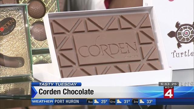 Tasty Tuesday: Corden Chocolate