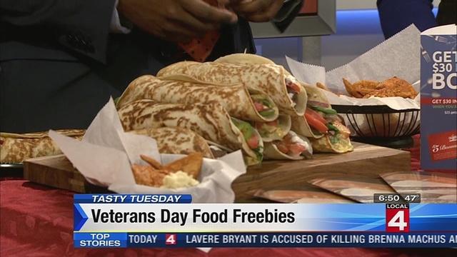 Tasty Tuesday: Deals for veterans on Veterans Day