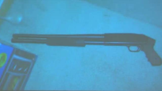 Theodore Wafer's shotgun