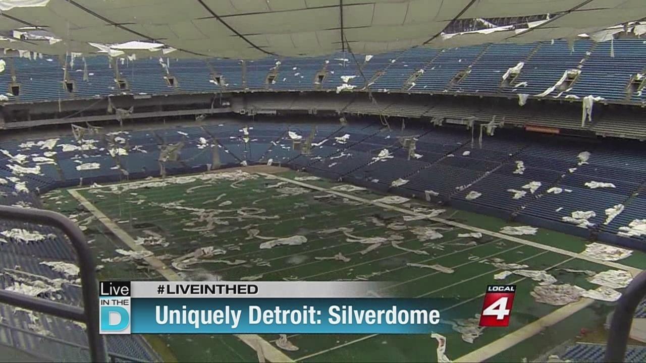 Risultati immagini per pontiac silverdome stadium 1994