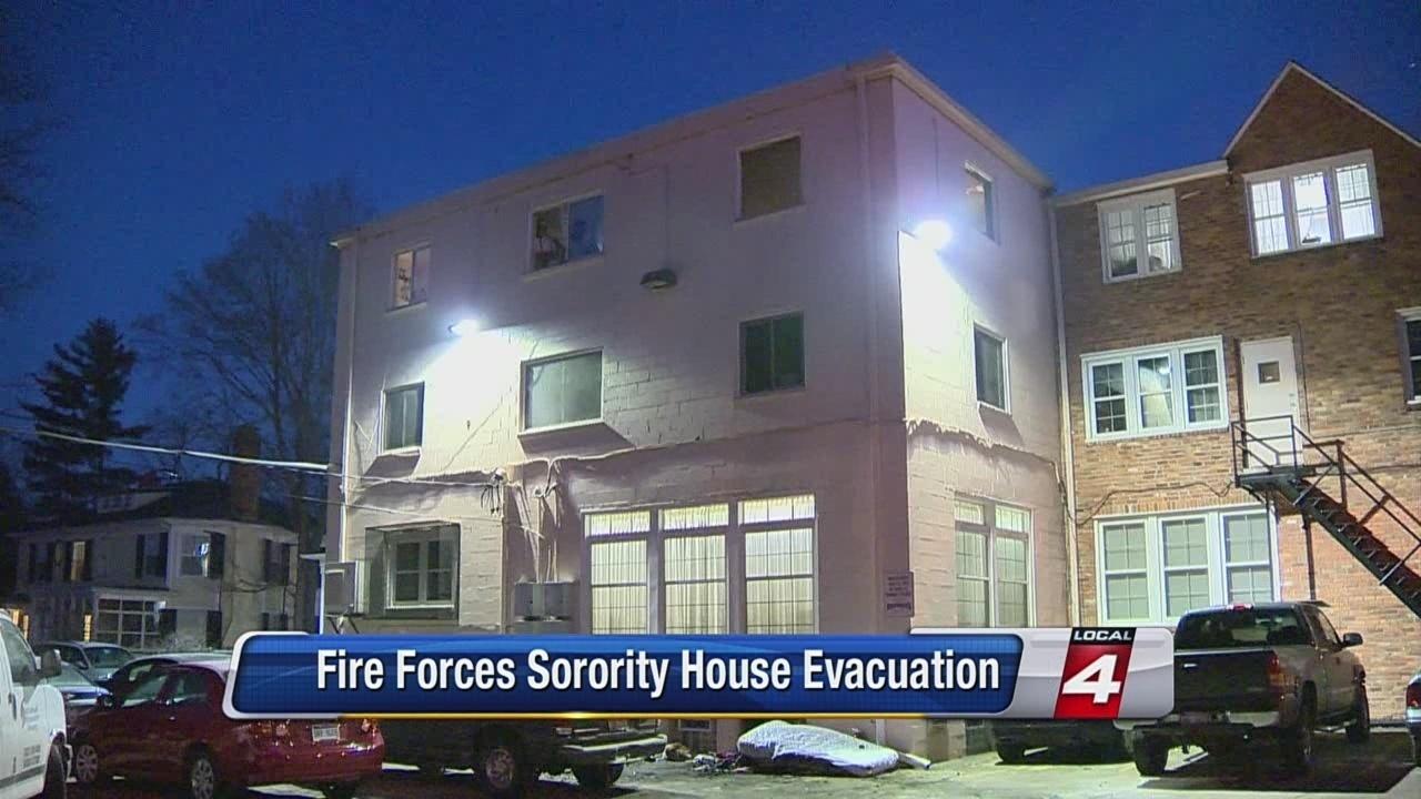 University of Michigan sorority house evacuated because of fire