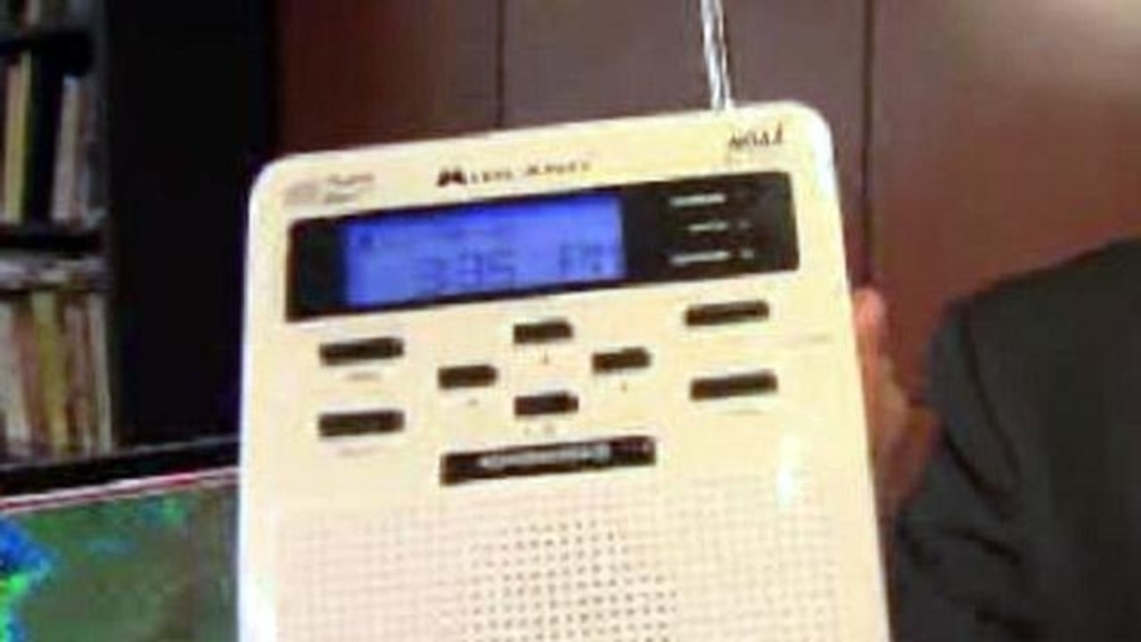 Radio 1 News: Local 4 Hosts Severe Weather Alert Radio Day