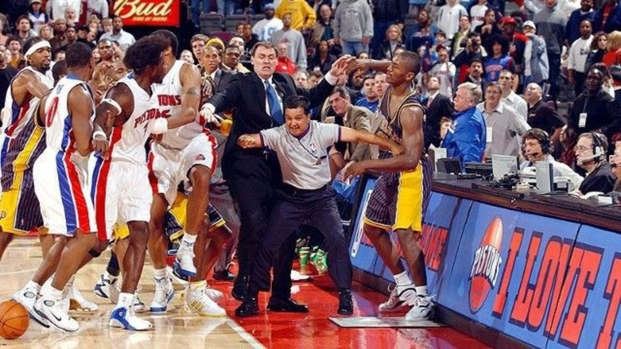 10 years later: Remembering the 2004 Pistons-Pacers brawl
