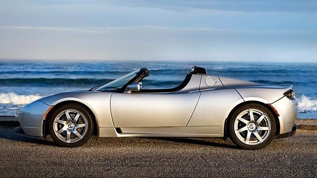 2009 Tesla Roadster sports car_129884
