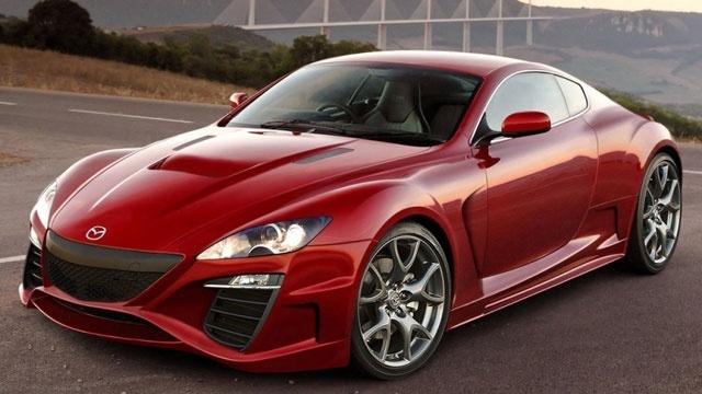 2013 Mazda RX-9 concept car