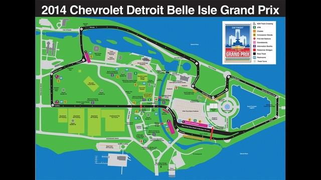 2014 Grand Prix map
