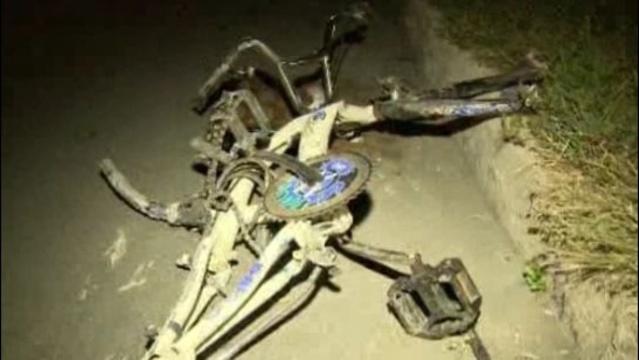 8-year-old boy's bike Detroit 1