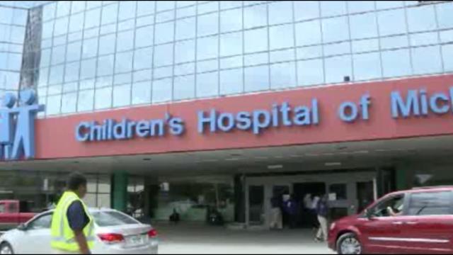 Children's Hospital sign