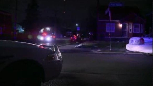 Detroit Public Lighting worker shooting
