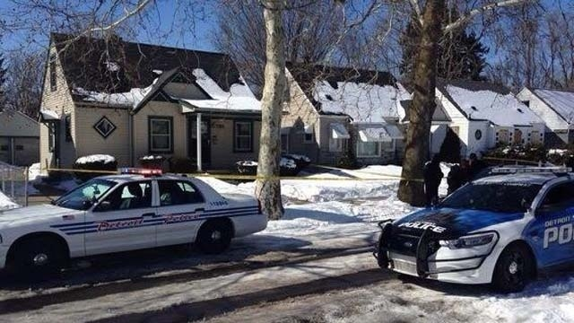 Detroit homeowner shoots intruder Penrod Street_24841794