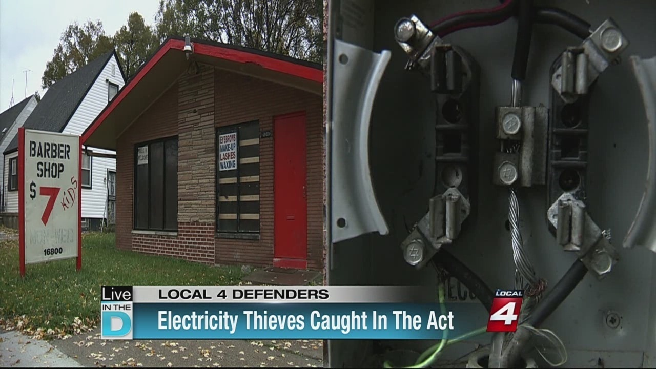 DTE Energy catches power thieves in action