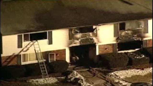 Fatal fire in Clinton Township scene