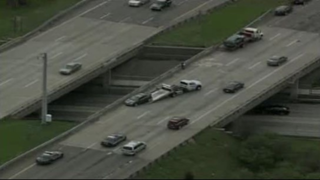 I-75 Adams Road crash 2