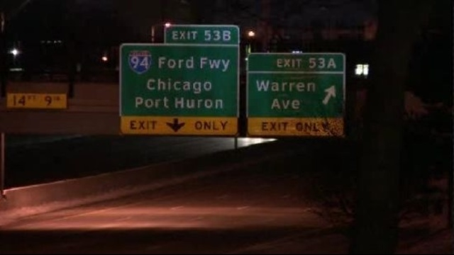 I-75 closed between Mack Ave. and Warren Ave. for police investigation_18479330