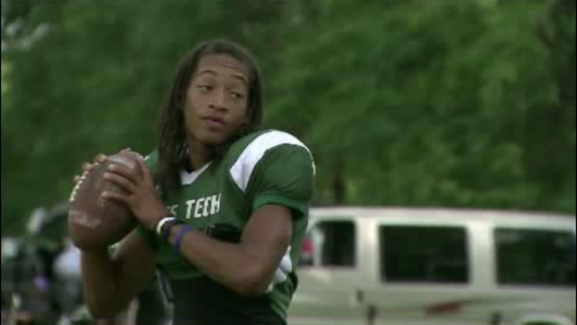 Jayru Campbell football star