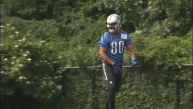 Joe Fauria on field