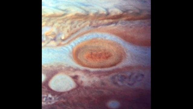 Jupiter Red Spot 1995