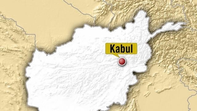 Kabul Afghanistan map_25640494
