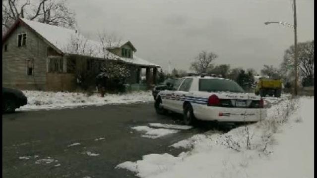 Log Cabin street crime scene_18416326