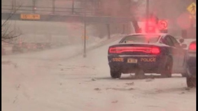 MSP trooper hit I-96 scene