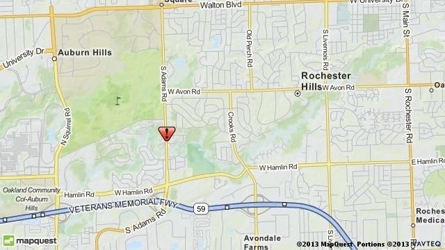 Rochester Hills crash map_19142608