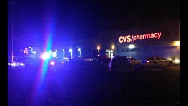 Security guard shot CVS
