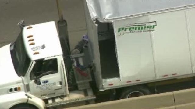 Semi truck on EB I-94 2_25553556