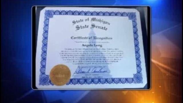 State Senate recognizes Angela_25838006