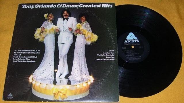 Tony Orlando and Dawn Greatest Hits record_1662800