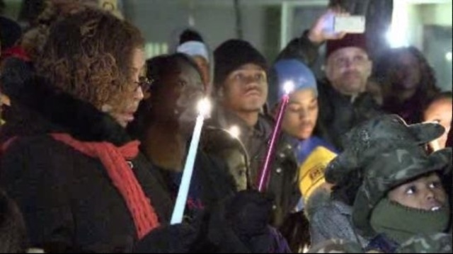 Vigil for Tameria Greene 1