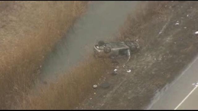 Woodhaven police chase crash 2_25311534