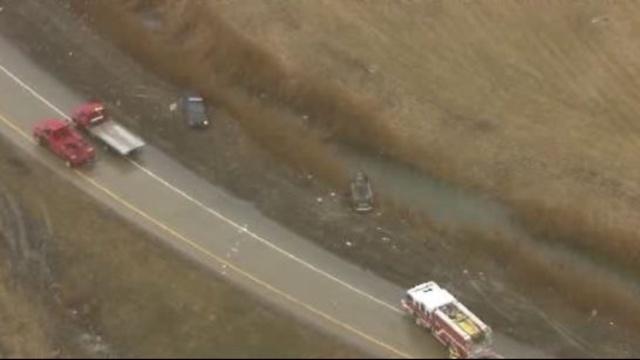 Woodhaven police chase crash_25311542