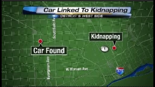 car linked to kidnaping