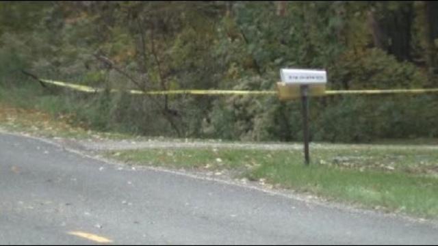 crime tape at Amber Alert scene_22649442