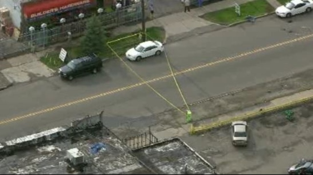 Boy struck killed by car Detroit 1
