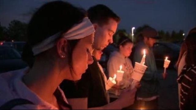 Brian Woehlke candlelight vigil