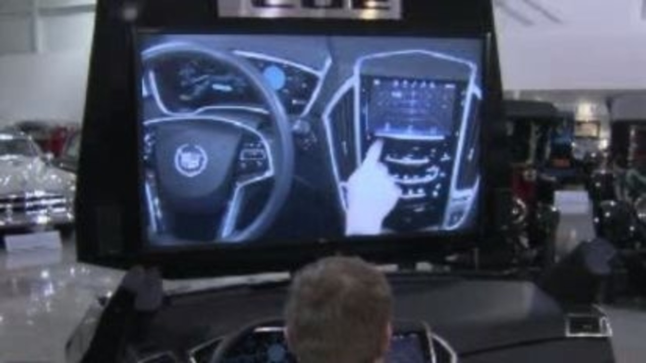 Cadillac hopes 'Cue' system is hit at auto show