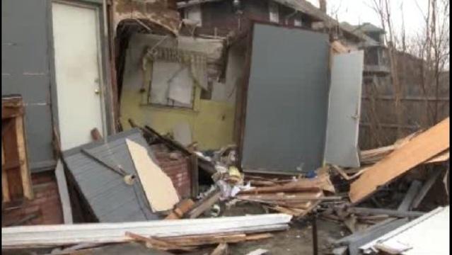 Car into house Trowbridge Detroit_17789644
