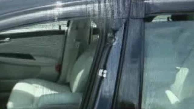 Car shot on Lodge Freeway Detroit 2