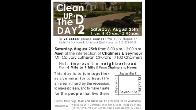 Clean up the d