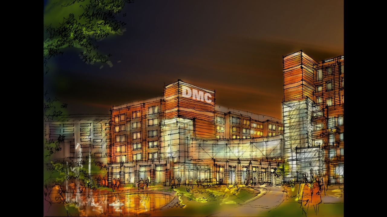 DMC to break ground on 'Heart Hospital' in Detroit