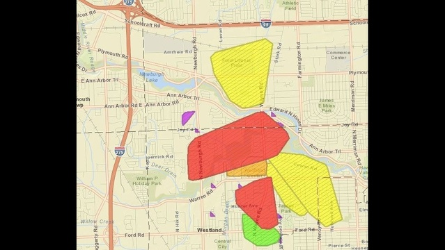 DTE power outage map_15965536