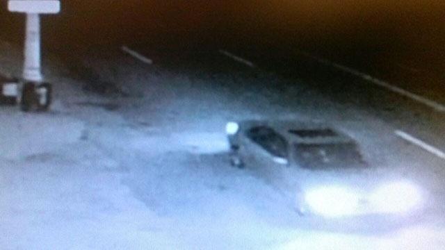 Detroit hit-and-run suspect vehicle
