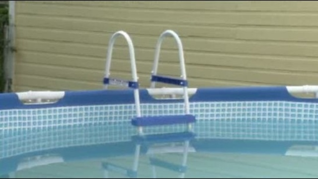 Detroit house pool where 2 year old boy drowned 1