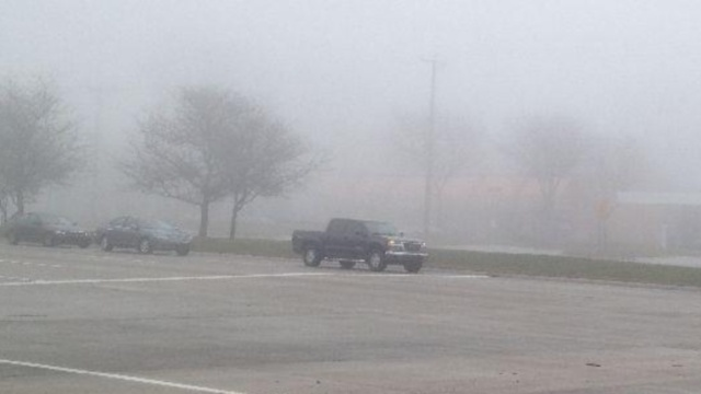 Fog in Metro Detroit