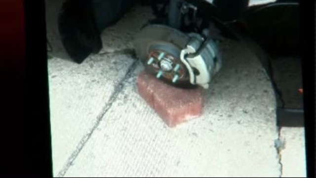 Ford Fusion wheel thefts Taylor Michigan 2_16484906