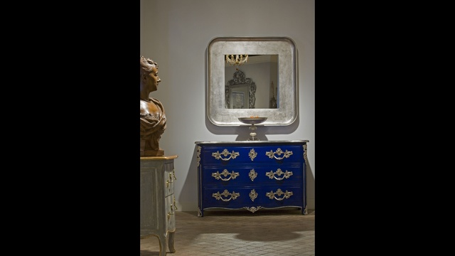 French Heritage Lapis French Chest